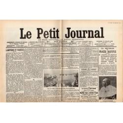 13 juillet 1906 - Le Petit Journal (2 pages) - La Révision du procès Dreyfus