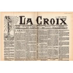14 juillet 1906 - La Croix (2 pages) - La Révision du procès Dreyfus