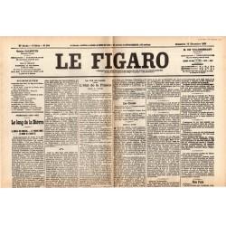 10 décembre 1905 - Le Figaro (2 pages) - L'Etat de la France - Séparation de l'Église et de l'État