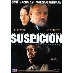 Suspicion (avec Gene Hackman & Morgan Freeman) affiche film