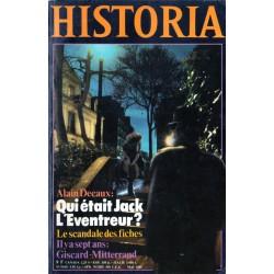 Historia n° 414 - Qui était Jack l'Éventreur (par Alain Decaux)
