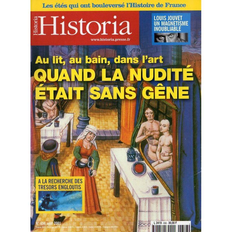 Historia n° 656 - Quand la nudité était sans gêne
