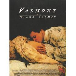Affiche Valmont (de Milos Forman)