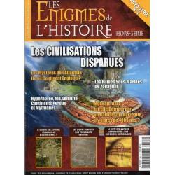 Les Énigmes de l'Histoire Hors série n° 2 H - Les Civilisations disparues