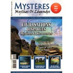 Mystères, Mythes & Légendes Hors-Série n° 2 - Civilisations disparues, Mystères & découvertes