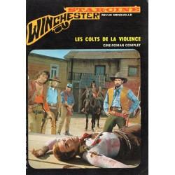 Star Ciné Winchester n° 27 - Les Colts de la Violence (ciné-roman complet) Mars 1972