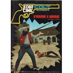 Star Ciné Colt n° 4 - D'Homme à Homme (ciné-roman complet) Décembre 1969
