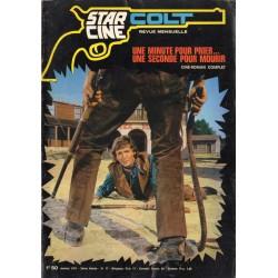 Star Ciné Colt n° 17 - Une minute pour prier... Une seconde pour mourir (ciné-roman complet) Janvier 1971