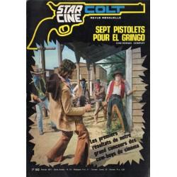 Star Ciné Colt n° 18 - Sept pistolets pour El  Gringo (ciné-roman complet) Février 1971