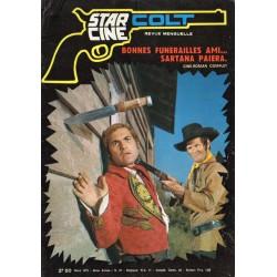 Star Ciné Colt n° 27 - Bonnes funérailles ami... Sartana paiera (ciné-roman complet) Mars 1972