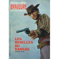 Star Ciné Bravoure n° 179 - Les Rebelles du Kansas (ciné-roman complet) Janvier 1972
