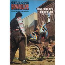 Star Ciné Bravoure n° 172 - Cinq Dollars pour Ringo (ciné-roman complet) Février 1971