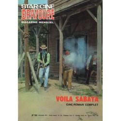 Star Ciné Bravoure n° 178 - Voilà Sabata (ciné-roman complet) Décembre 1971
