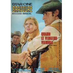 Star Ciné Bravoure n° 147 - Quand le Vengeur viendra (ciné-roman complet) Janvier 1969