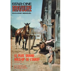 Star Ciné Bravoure n° 156 - Le Plus grand Hold-Up de l'Ouest (ciné-roman complet) Octobre 1969