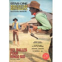 Star Ciné Bravoure n° 132 - Six Balles pour Ringo Kid (ciné-roman complet) Octobre 1967