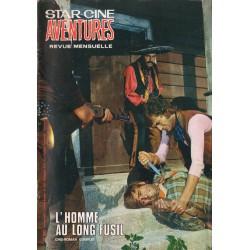 Star Ciné Aventures n° 232 - L'Homme au long fusil (ciné-roman complet) Janvier 1971