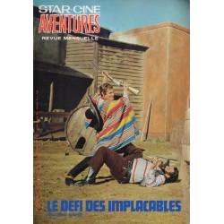 Star Ciné Aventures n° 233 - Le défi des Implacables (ciné-roman complet) Février 1971