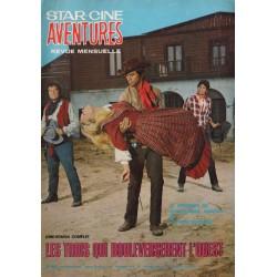 Star Ciné Aventures n° 219 - Les Trois qui bouleversèrent l'Ouest (ciné-roman complet) Décembre 1969