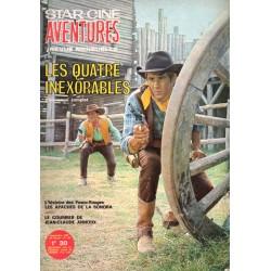 Star Ciné Aventures n° 192 - Les Quatre Inexorables (ciné-roman complet) Septembre 1967