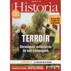 Historia n° 795 - TERROIR, Chroniques millénaires de nos campagnes