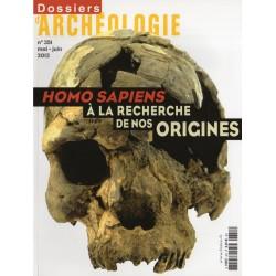Dossiers d'Archéologie n° 351 - HOMO SAPIENS, à la recherche de nos Origines