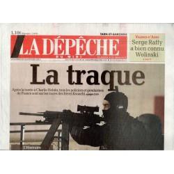 9 janvier 2015 - La Dépêche du Midi (complet) - La Traque