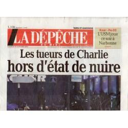 10 janvier 2015 - La Dépêche du Midi (complet) - Les tueurs de Charlie hors d'état de nuire