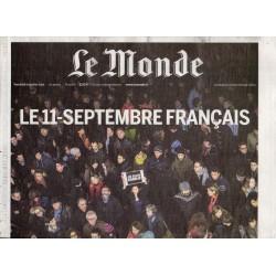 9 janvier 2015 - Le Monde (complet) - Le 11 septembre français