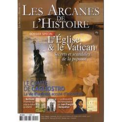 Les Arcanes de l'Histoire n° 9 - L'Église & le Vatican, Secrets et scandales de la papauté