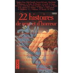 22 histoires de sexe et d'horreur (ANTHOLOGIE) - Horreur & Science Fiction