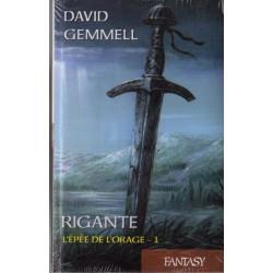 Rigante tome 1 L'épée de l'orage (David GEMMELL) - Fantasy