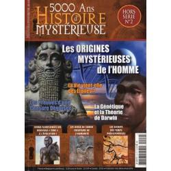 5000 ans d'histoire mystérieuse Hors-série n° 2 - Les origines mystérieuses de l'Homme