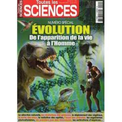 Toutes les Science n° 2 - ÉVOLUTION, de l'apparition de la vie à l'Homme