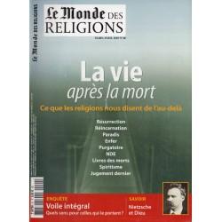 Le Monde des Religions n° 40 - La Vie après la Mort, ce que les religions nous disent de l'au-delà