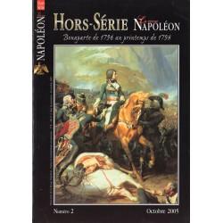 La Revue Napoléon Hors-série n° 2 - Bonaparte de 1796 au printemps de 1798