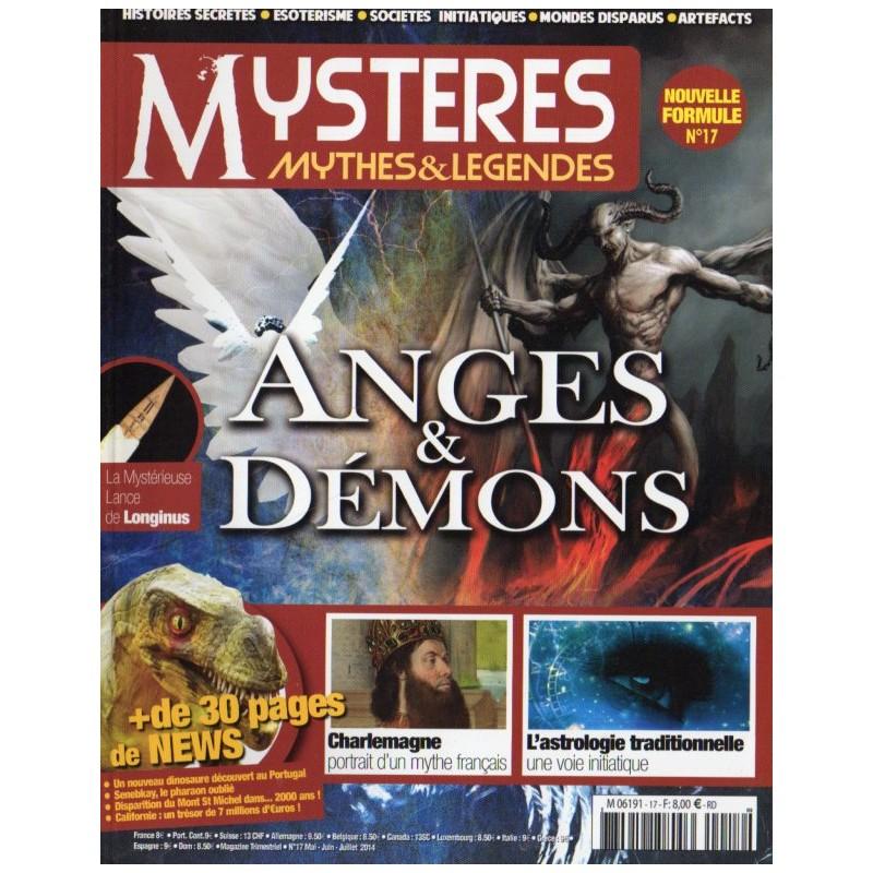 Mystères, Mythes & Légendes n° 17 - Anges & Démons
