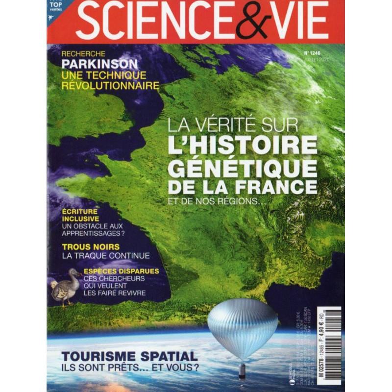 Science & Vie n° 1246 - La vérité sur l'Histoire génétique de la France et de nos régions...