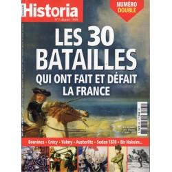 Historia n° 895 896 - Les 30 batailles qui ont fait et défait la France