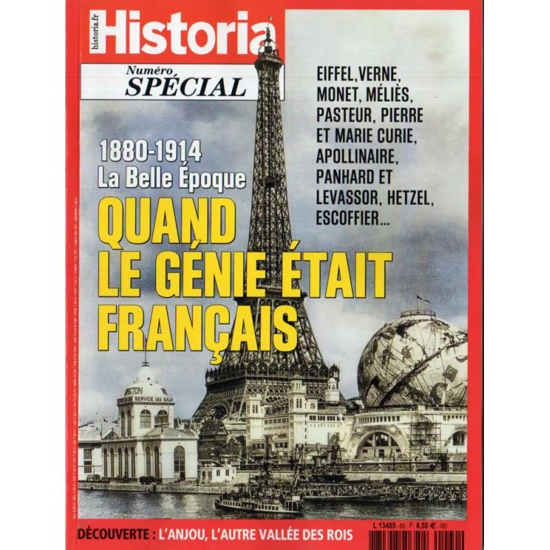 Historia Spécial n° 60 - 1880-1914, la Belle Époque : Quand le Génie était français