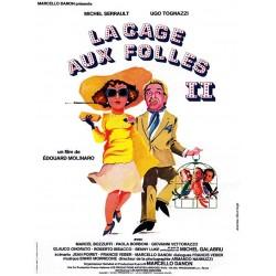 affiche film La Cage aux Folles II (avec Michel Serrault & Ugo Tognazzi)