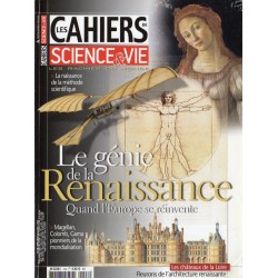 Les Cahiers de Science & Vie n° 128 - Le génie de la Renaissance - Quand l'Europe se réinvente