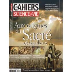 Les Cahiers de Science & Vie n° 124 - Aux origines du Sacré et des Dieux