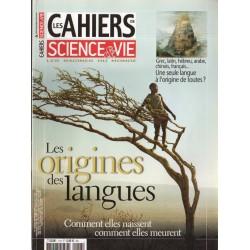 Les Cahiers de Science & Vie n° 118 - Les Origines des Langues