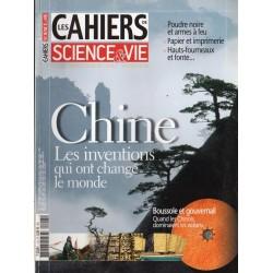 Les Cahiers de Science & Vie n° 113 - Chine, les inventions qui ont changé le Monde