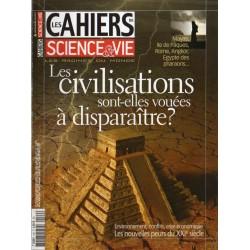 Les Cahiers de Science & Vie n° 109 - Les Civilisations sont-elles vouées à disparaître ?