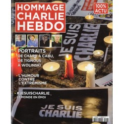 100% ACTU n° 7 - Hommage Charlie Hebdo - 2015