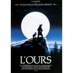 affiche film L'Ours (de Jean-Jacques Annaud)
