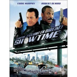 affiche film Showtime (avec Eddie Murphy & Robert De Niro)