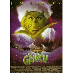 affiche film Le Grinch (avec Jim Carrey)